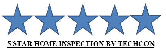 5-star home inspection by techcon home inspection Services